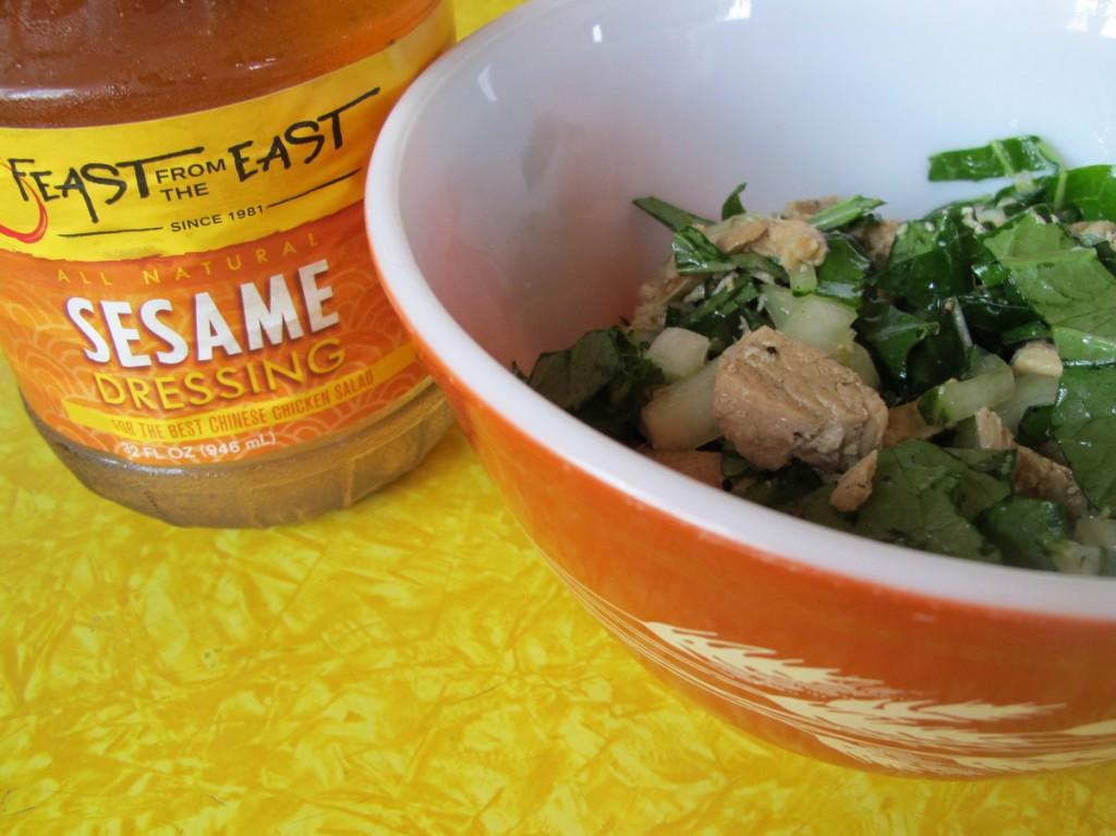 Bok Choy Asian Salad