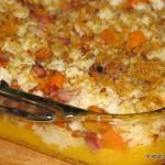 orange rice and squash casserole