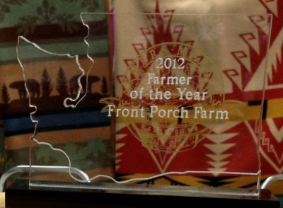 2012 Farmer of the Year Award